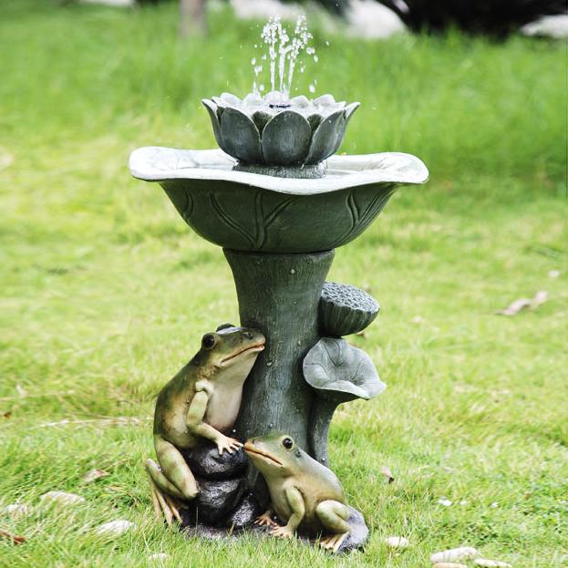 vandfontæne-dekoration